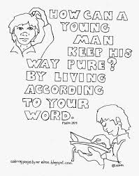 coloring pages for kids by mr adron how can a young man keep his