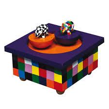 Childrens Music Boxes Original Baby Gift Idea Trousselier Elmer The Elephant Music Box