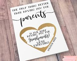 card pregnancy announcement family you