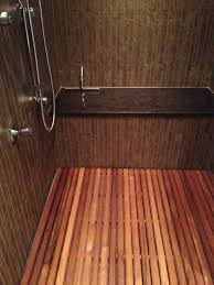 Teak Benches For Bathrooms Teak Bath Mat Home Design Ideas