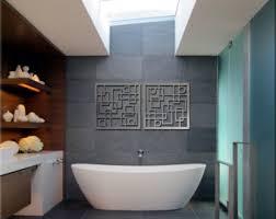 Modern Bathroom Wall Decor Bathroom Interior Interior Grey Contemporary Bathroom Wall