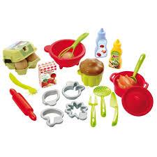 cuisine enfant ecoiffier dînette coffret pâtisserie cuisine 3 étoiles jeux et jouets