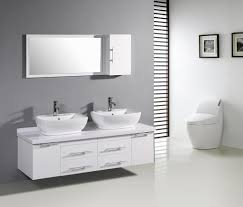 Modern White Bathroom Cabinets Design Best  Modern Bathroom - White cabinets bathroom design