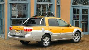 yellow subaru baja 5 weird subarus that made it an american favorite