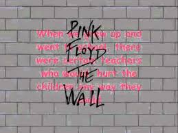 Pink Brick Wall Pink Floyd Another Brick In The Wall Youtube