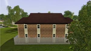 fourplex mod the sims starter four plex apartment building