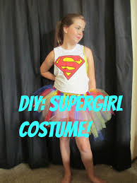 Halloween Costumes Supergirl Diy Supergirl Costume Photoshoot Ideas Costumes