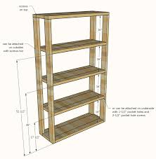 Making Wooden Shelves For Storage by Ana White Reclaimed Wood Rolling Shelf Diy Projects