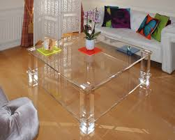 clear plastic console table clear acrylic coffee table and accent tables cole papers design