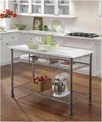 Cheap Kitchen Island Carts by Home Styles The Orleans Kitchen Island With White Quartz Top