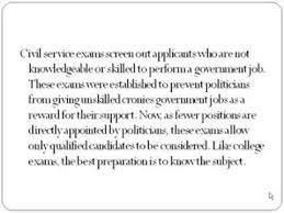 civil service exam test dates nj cambiare il destino epub