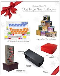 gift ideas for the office and colleagues