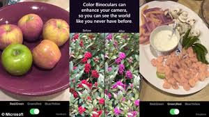 Living With Color Blindness Microsoft Garage Releases Ios App Color Binoculars That Lets