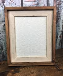 home decor frames 85 x 11 cream rustic stacked and stained