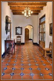 Modern Spanish Homes Traditional Style Spanish Home Interior Idea With Travertine Tiles