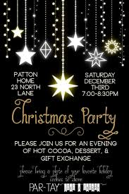 Dinner Party Invitations The 25 Best Christmas Party Invitations Ideas On Pinterest