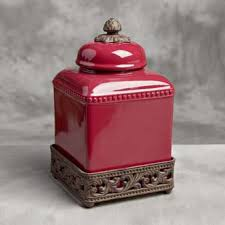 tuscan kitchen canisters sets tuscan kitchen canister sets small tuscan canister cranberry by