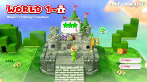 Paper Mario World Map by Every Known World And Named Level In Super Mario 3d World U2013 Mario