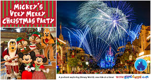 mickey u0027s merry christmas party wdw ride guide