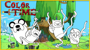 adventure time coloring page w finn and jake let u0027s color youtube