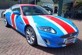 jaguar xk type union jack jaguar xk arrives at perrys car news reviews