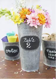 Tin Buckets For Centerpieces by Summer Time Celebrations Candyconceptsinc Com