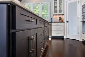 new kitchen features black u0026 white cabinets cliqstudios