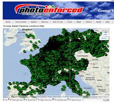 belgium and netherlands map photo enforced europe speed cameras locations map
