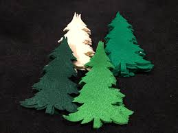 Christmas Tree Books by Diy Christmas Ornaments Felt Tree Die Cuts Quiet Books Pine