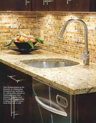 Backsplash Ideas For Kitchen Walls Cabinets With Camel Countertops Backsplash Ideas For The