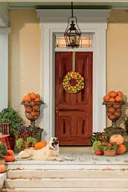 thanksgiving front door decorations pumpkin ideas for your front door southern living