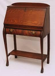 antique drop front desk antique drop front secretary desk with hutch home design ideas