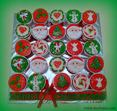 life is too short eat desserts christmas theme cupcakes