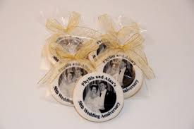 anniversary favors phenomenal white 50th wedding anniversary favors adjustable themes