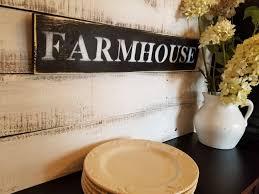 farmhouse wood sign farmhouse decor ideas rustic kitchen sign