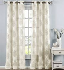 window elements paige damask sheer curtain panels u0026 reviews wayfair