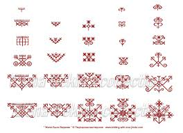 latvian symbols patterns patterns kid