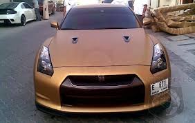 nissant gt r spotted with matte gold paint job autospies auto news