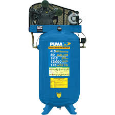puma 5hp 20 gallon air compressor ac gallery air conditioner