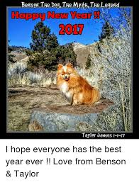 Benson Dog Meme - benson the dog the myth the legend happy new wear taylor james h 17