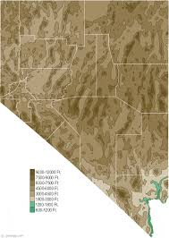 map of nevada map of nevada