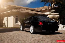 roll royce brown vossen wheels rolls royce ghost vossen cvt