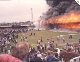 Beverly Hills Supper Club Floor Plan Main Stand Engulfed In Flames In The Bradford City Stadium Fire