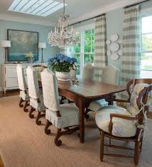 Horizontal Striped Curtain Dining Room Farmhouse Home Renovations