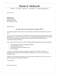 Examples Of Customer Service Cover Letters Assistant Cover Letter
