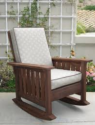 Outdoor Furniture Rocking Chair by Best 25 Craftsman Outdoor Rocking Chairs Ideas On Pinterest