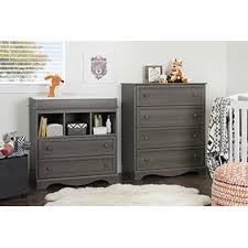 south shore savannah changing table with drawers gray maple south shore savannah changing table with drawers gray maple