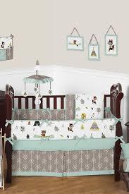 Unisex Crib Bedding Sets Outdoor Nature Adventure Baby Bedding 9 Crib Set Crib Sets