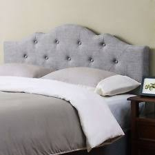 upholstered headboard king ebay