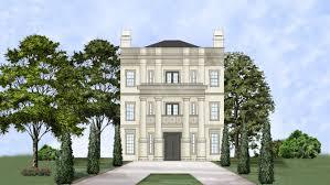 Classic Homes Floor Plans Balleroy Neoclassic House Plan Classic House Plan